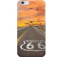 Highway Route 66 iPhone Case/Skin