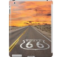 Highway Route 66 iPad Case/Skin