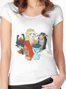 Legend of Zelda Girls Women's Fitted Scoop T-Shirt