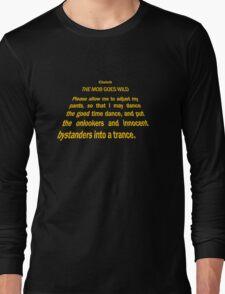 Clutch - Star Wars text crawl shirt Long Sleeve T-Shirt