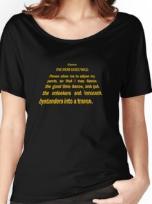 Clutch - Star Wars text crawl shirt Women's Relaxed Fit T-Shirt