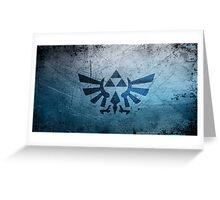 Zelda Triforce Greeting Card