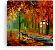 tardis beauty Canvas Print