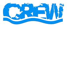 Crew waves water logo by Style-O-Mat