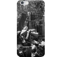 Fallen Building 2, Siem Reap, Cambodia iPhone Case/Skin