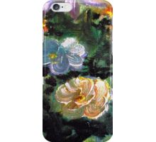 Orange Oil Flower iPhone Case/Skin
