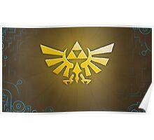 Zelda Triforce Poster
