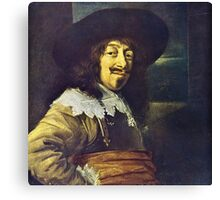 Portrait of an Officer by Frans Hals Canvas Print