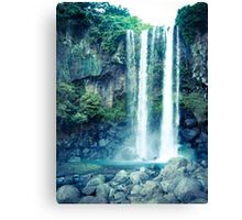 Jeongbang Waterfall Canvas Print