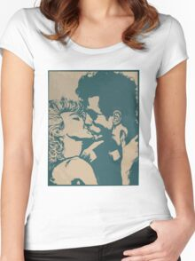 Jesse and Tulip from Preacher Women's Fitted Scoop T-Shirt