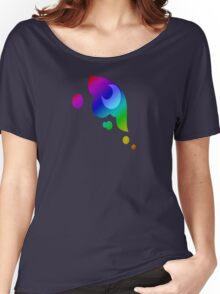 MLP - Cutie Mark Rainbow Special - Princess Luna / Nightmaremoon V3 Women's Relaxed Fit T-Shirt