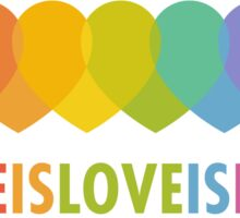 Love Is Love (Alternative) Sticker