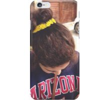 Hipster flower crown iPhone Case/Skin