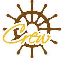 Crew Steuerrad Rang Logo by Style-O-Mat