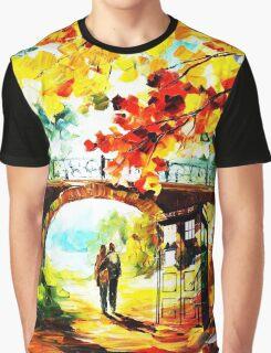 tardis scenery  Graphic T-Shirt