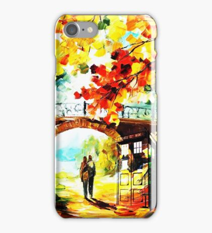 tardis scenery  iPhone Case/Skin
