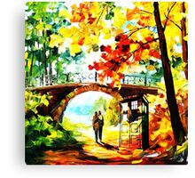 tardis scenery  Canvas Print