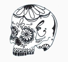 Second Mexican Sugar Skull by luckylucy