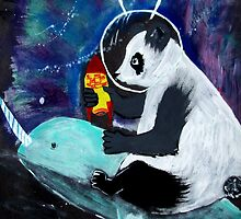 PELUSA - Panda espacial by jimenablack