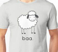 Baa says the sheep. Unisex T-Shirt