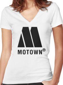 Motown Women's Fitted V-Neck T-Shirt
