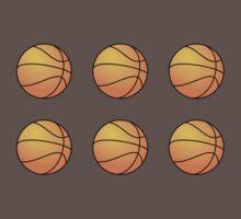 Basketballs One Piece - Short Sleeve