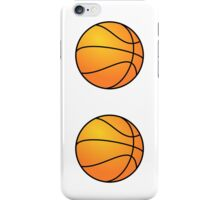 Basketballs iPhone Case/Skin