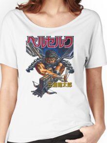 Black Swordsman Women's Relaxed Fit T-Shirt