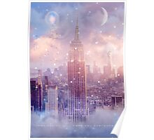 Imagination Takes You Everywhere - Color (City Lights Series) Poster
