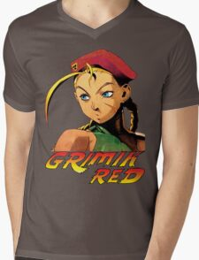Cammy street fighter Mens V-Neck T-Shirt
