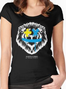 Martin Garrix Lions in The Wild Women's Fitted Scoop T-Shirt