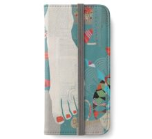 Barefoot iPhone Wallet/Case/Skin