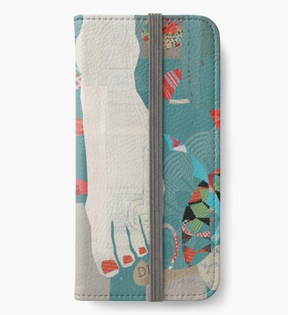 Barefoot iPhone Wallet/Case/Skin