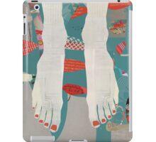 Barefoot iPad Case/Skin