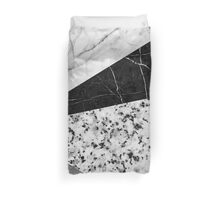 Marble and Granite Abstract Duvet Cover