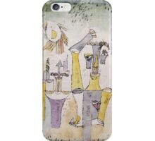 Paul Klee - Black Magic . Abstract painting: abstract art, geometric, Magic , composition, woman, man, people, spot, shape, illusion, fantasy future iPhone Case/Skin