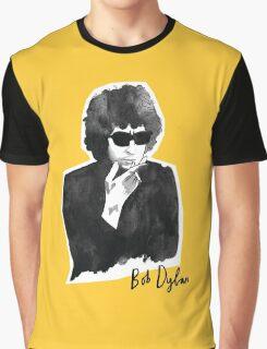 Bob Dylan Portrait Graphic T-Shirt