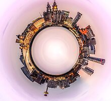 Liverpool Waterfront Little Planet by Paul Madden