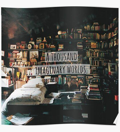 A Thousand Imaginary Worlds Poster