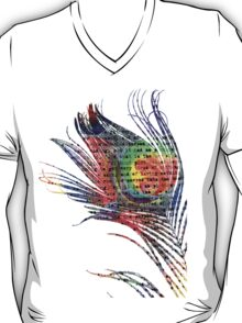 Alice in Wonderland on a Feather T-Shirt