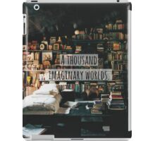 A Thousand Imaginary Worlds iPad Case/Skin