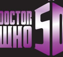 Doctor Who 50th Anniversary Sticker