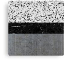 Marble, Granite, and Concrete Abstract Canvas Print