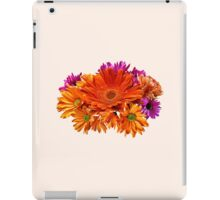 Mixed Bouquet With Gerbera Daisy and Mums iPad Case/Skin