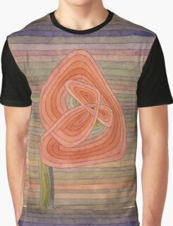 Paul Klee - Lonely Flower. Abstract painting: abstract art, geometric, Lonely ,  Flower, lines, forms, creative fusion, spot, shape, illusion, fantasy future Graphic T-Shirt