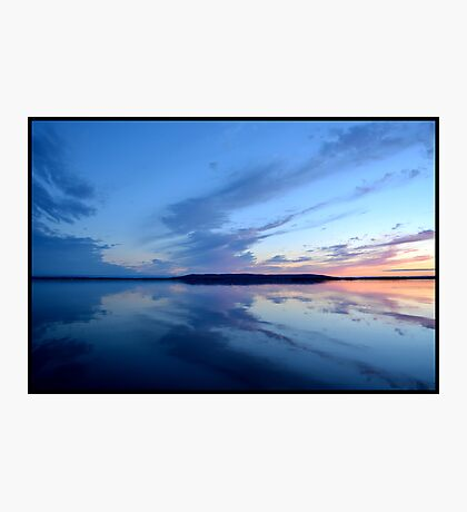 Marble Mountain Winter Sunset Photographic Print