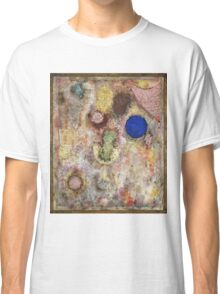 Paul Klee - Magic Garden. Abstract painting: abstract art, geometric, Garden, Magic , lines, forms, creative fusion, spot, shape, illusion, fantasy future Classic T-Shirt