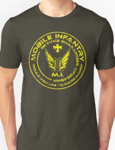 Starship Troopers - Mobile Infantry Unisex T-Shirt