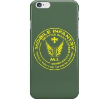 Starship Troopers - Mobile Infantry iPhone Case/Skin