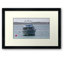 Waiting patientley! Beachport, Limestone Coast. S.A. Framed Print
